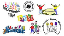 Logos der Grundschulen