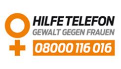 Logo Hilfetelefon für Frauen