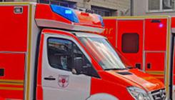 Foto Krankentransportwagen