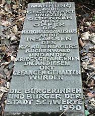 Foto Gedenkstein an der Emil-Rohrmann-Straße