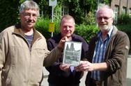 Foto Tagebuch Mol, Uwe Fuhrmann, Alfred Hintz und John Loftus