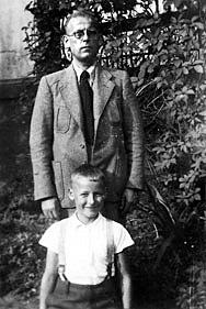 Foto Ludwig Tappe mit Sohn