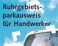 Ruhrgebietsparkausweis für Handwerker