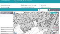 Grafik: Starseite Bauleitplanung online