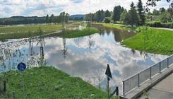 Foto Hochwasser Mühlenstrang