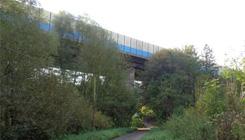 Foto Talbrücke Block Heide